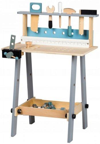 Μεγάλος Ξύλινος Πάγκος με 32 εργαλεία Ecotoys 45505