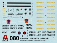 AH - 64 APACHE - MODELSET  Italeri ITAL71080