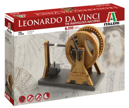 LEVERAGE CRANE - Italeri LEONARDO DA VINCI 3112S