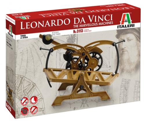 ROLLING BALL TIMER - Italeri LEONARDO DA VINCI 3113S