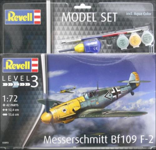 Messerschmitt Bf109 F-2 Revell 63893