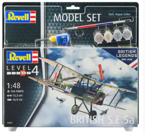 Model Set British SE 5a Revell 63907