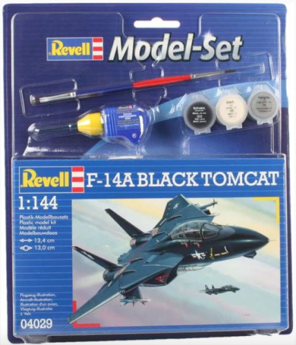 Model Set F-14A Black Tomcat Revell 64029