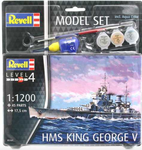Model Set HMS King George V Revell 65161