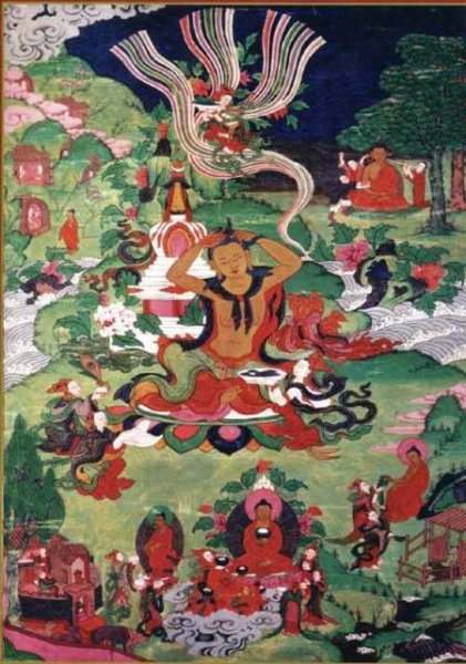 TIBETAN ART Buddhas Life RICO5901N32036