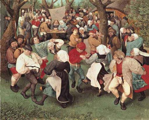 BRUEGEL The Peasant Dance RICO5901N16172A