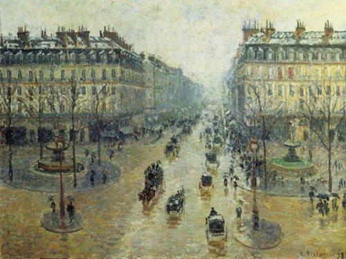 PISSARRO Avenue de l'Opera a Paris Ricordi RICO5901N32012