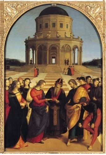 RAFFAELLO Sposalizio della Vergine Ricordi RICO5901N15876A