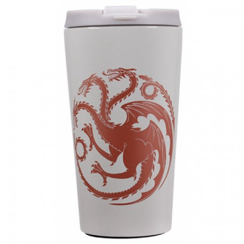 Game Of Thrones Mother of Dragons - Travel Mug Metal - MUGTGT06