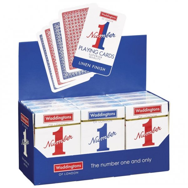 Tράπουλα Waddingtons Number 1 Playing Cards WAD-007146