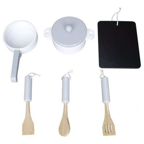 Σετ μαγειρικής με πινακάκι Ecotoys 13009