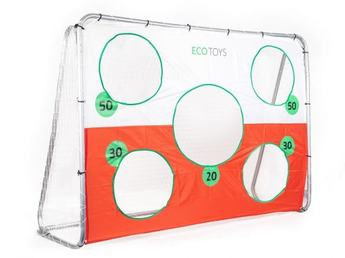 Τέρμα Ποδοσφαίρου με Στόχους Ecotoys 58019