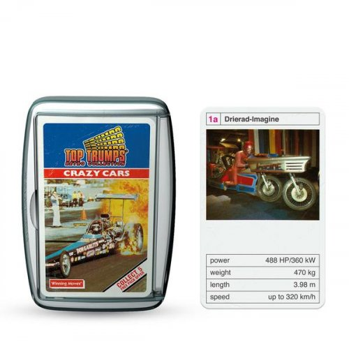 Κάρτες Crazy Cars Top Trumps 2202