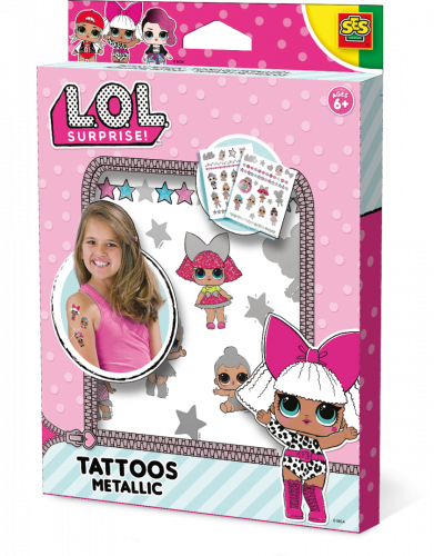 L.O.L. Tattoos metallic Ses 14192