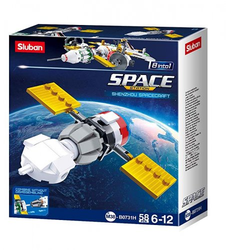 SPACE Satellite Slubanship Sluban M38-B0731H