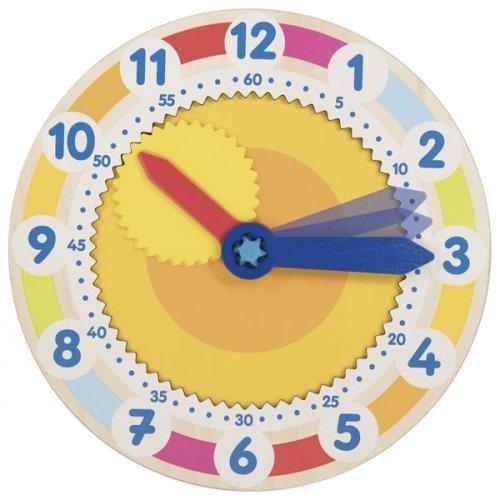 Ρολόι με γρανάζι μαθαίνω την ώρα Goki 58746