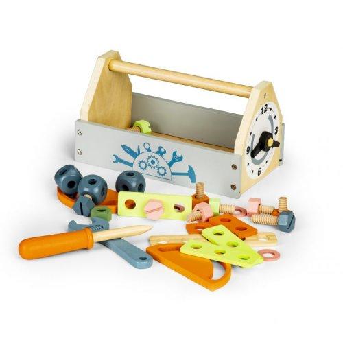 Μίνι ξύλινη εργαλειοθήκη Ecotoys 80013