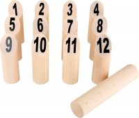Kubb, Παιχνίδι των Βίκιγκ με αριθμούς Small Foot 8698