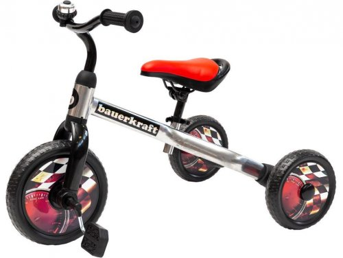 Τρίκυκλο Ποδήλατο 3 σε 1 Ecotoys X-173 RED
