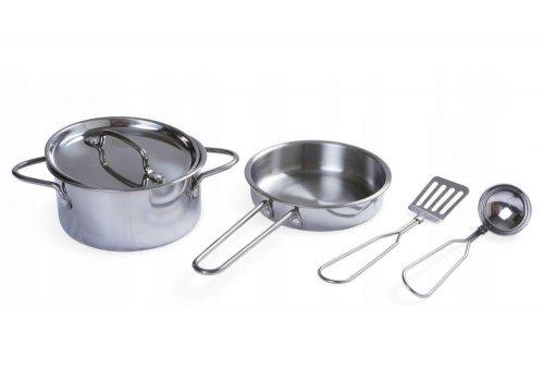 Μεταλλικό σετ μαγειρικής Ecotoys 4258