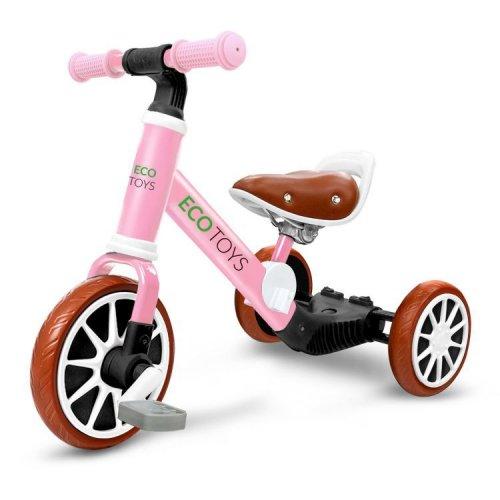 Ποδήλατο με 3 τροχούς Ecotoys 1322 PINK