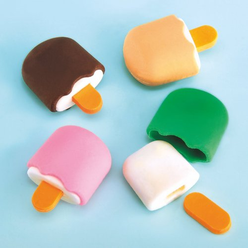 Γόμα Παγωτό Ξυλάκι Party Toys G104
