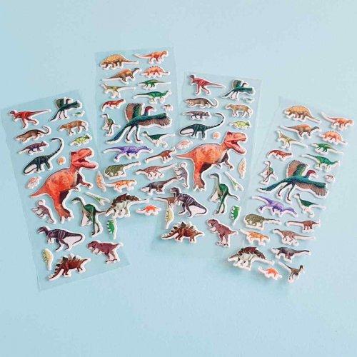 Αυτοκόλλητα Δεινόσαυροι Party Toys LW126