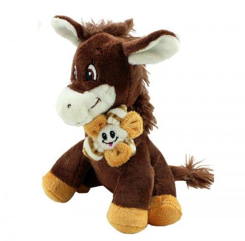 Βελούδινο αλογάκι Don Party Toys LW190A