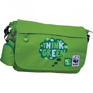 Τσάντα ώμου WWF Κωδ. 04108-green