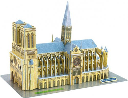 3D Puzzle Notre-Dame SmallFoot 8926