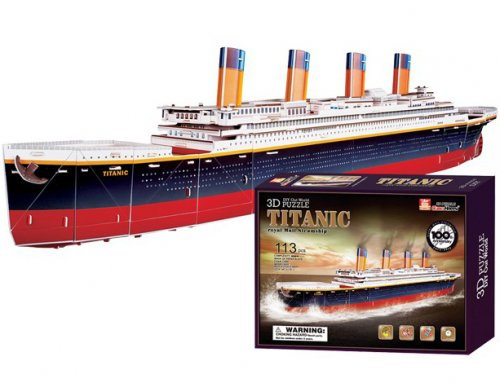 3D Puzzle Titanic Small foot Κωδ. 8930