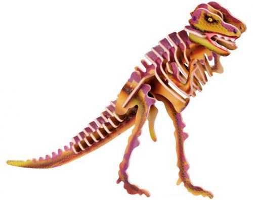 Ξύλινο 3D Puzzle Τυραννόσαυρος Small foot  Κωδ. 1452
