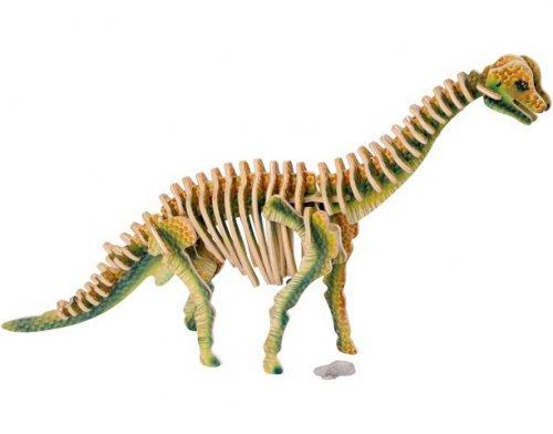 Ξύλινο 3D Puzzle Βραχιόσαυρος Small foot  Κωδ. 1453
