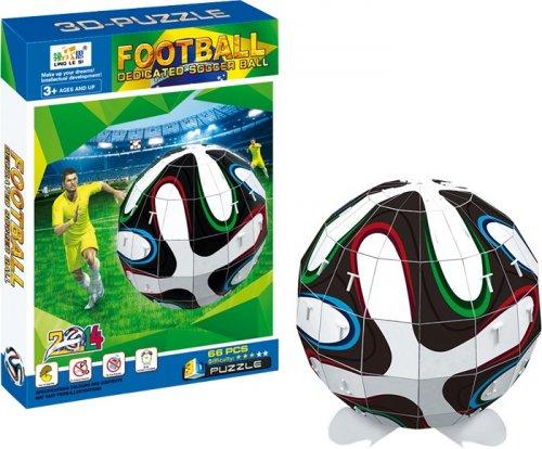 3D Puzzle Μπάλα Ποδοσφαίρου Small foot Κωδ. 9046