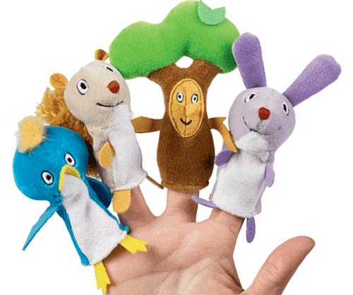 Δαχτυλοκούκλες ΜΙΑ ΜΕΡΑ ΣΤΟ ΔΑΣΟΣ - Manhattan Toys