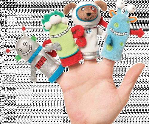 Δαχτυλοκούκλες Μία Μέρα Στον Πλανήτη Άρη - Manhattan Toys