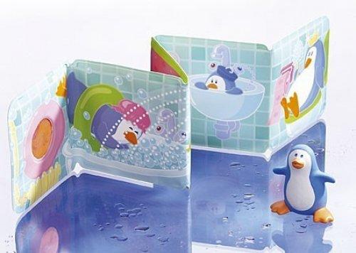Haba βιβλίο μπάνιου πιγκουΐνοι Κωδ: 5374