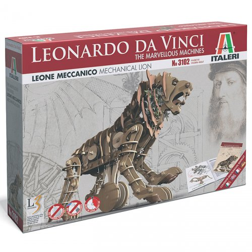 MECHANICAL LION - Italeri LEONARDO DA VINCI Κωδ: 3102S
