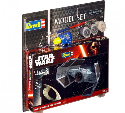 Model Set Darth Vader's TIE Fighter Κωδ REVE63602