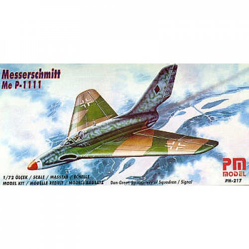 PM MODEL MESSERSCHMITT ME P1111 κωδ. PM217