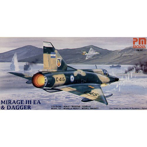 PM MODEL MIRAGE III EA DAGGER κωδ. PM207