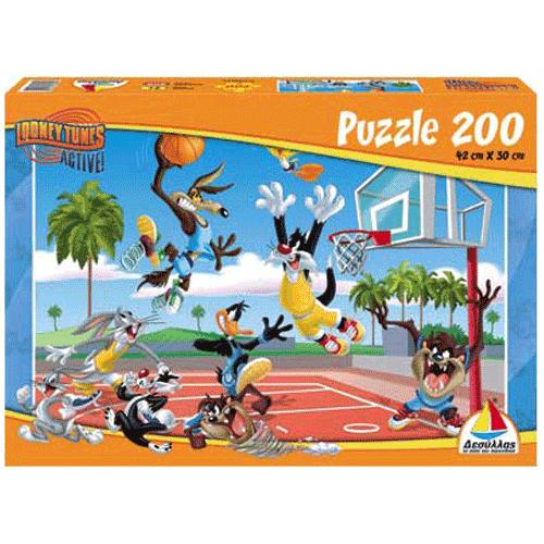 Puzzle 200 Looney Tunes Μπάσκετ - Κωδ.Π608