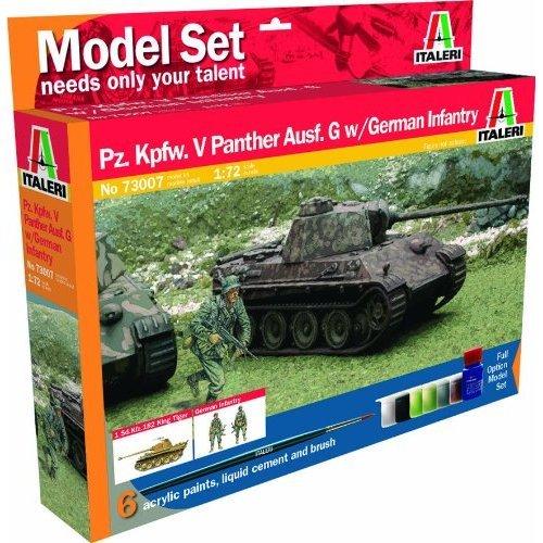 Pz. Kpfw. V Panther & 50 φιγούρες στρατιωτών - Italeri Κωδ 73007