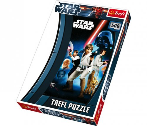 Star Wars Παζλ   500 Κομμάτια. Legler Κωδ:8490