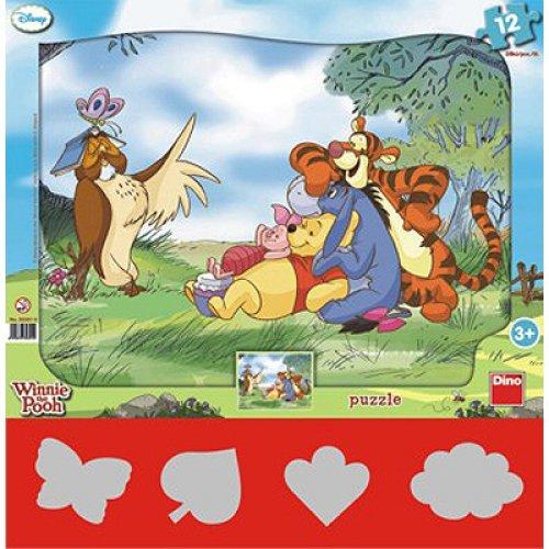 Παζλ Winnie the Pooh 12 τεμαχίων Dino 303010