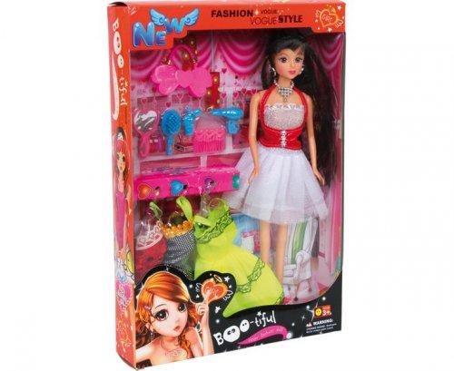 Κούκλα Isabella και fashion set Legler 8844