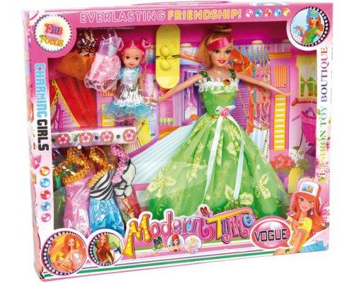 Κούκλες Neomi & Kiki και fashion set Legler Κωδ. 8842