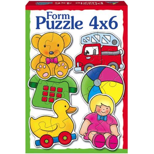 Puzzle 4x6 Toys - Κωδ.Π415