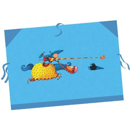 Χαρτοφύλακας - τσάντα σχεδίων Djeco Ιππότες Κωδ. 04257