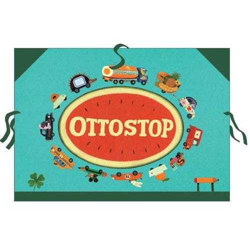 Χαρτοφύλακας - τσάντα σχεδιών Djeco οχήματα Κωδ. 04701